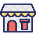 Building Cafe Diner Icon