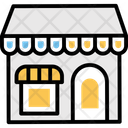 Shop Marketplace Stall Icon