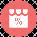 Shop Discount Percentage Icon