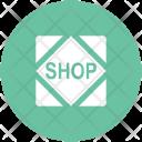 Shop Store Label Icon
