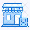 Shop Mall Store Icon
