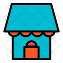 Home House Shopping Mall Icon