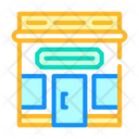 Shop Building Color Icon