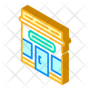 Shop Building Isometric Icon
