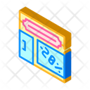 Shop Building Isometric Icon