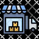 Shop Warehouse Store Icon