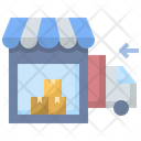 Shop Warehouse Store Icon