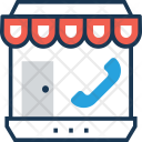 Shop Marketplace Online Icon