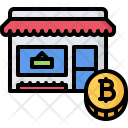 Shop Product Bitcoin Icon