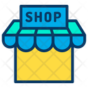 Sale Shopping Stall Icon