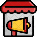 Shop Advertisement Icon