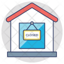 Closed Shop Sign Icon