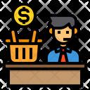 Consumer Shopping Service Icon