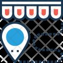 Shop Distance Icon