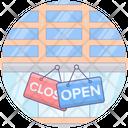Shop Door Labels Door Label Door Tags Icon