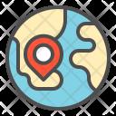 Location Map Shop Icon