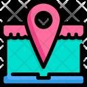 Online Shop Location Icon
