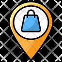 Shop Location Mall Location Store Location Icon