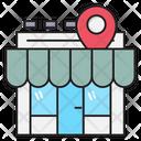 Shop Store Location Icon