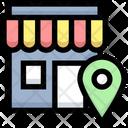 Shop Location Store Location Market Location Icon