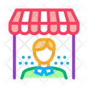 Shop Manager Work Icon