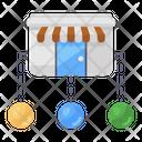 Shop Network Icon