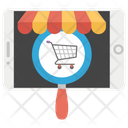 Shop Now Internet Buying E Commerce Icon