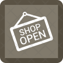 Open Shop Hanging Icon