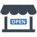 Shop Open Management Business Icon