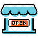 Shop Open Icon
