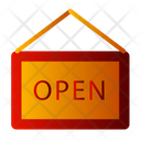 Shop Open Open Store Open Icon