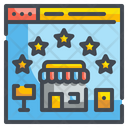Shop Rating Rating Popular Icon