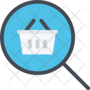 Shop Search Commerce Icon