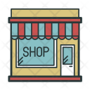 Shop Storefront Retail Icon