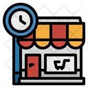 Shop Time Icon