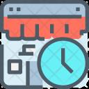 Time Shop Shopping Icon