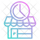 Time Shop Open Icon