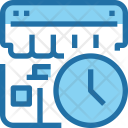 Time Timing Shop Icon