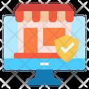 Verify Online Store Icon
