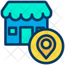 Shope Location Icon