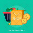 Shoping And Money Icon
