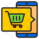 Shoping Cart Mobile Buy Icon