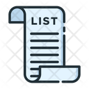 Shoping List Shopping List List Icon