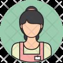 Shopkeeper Avatar People Icon