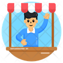 Storekeeper Shopkeeper Vendor Icon