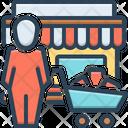 Shopper Shopkeeper Chandle Icon