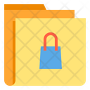 Shopping Folder Shoppig Folder Icon