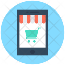 Shopping App Mobile Icon