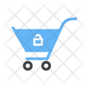 Shopping Unlock Cart Icon