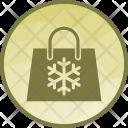 Shopping Bag Christmas Icon